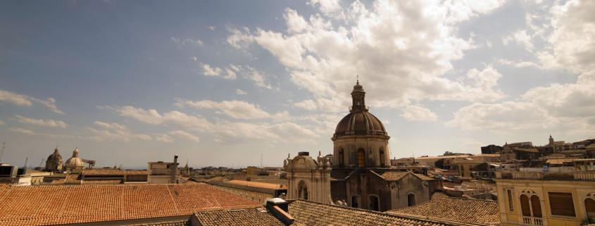 Catania view from Dimora di Sicilia